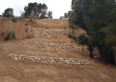 Construcción de escolleras de abrigo y protección de Gasoducto Martorell-Figueres para ENAGÁS