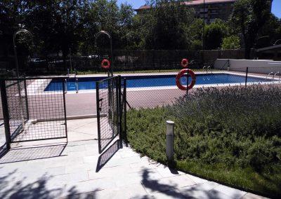 Construcción de garaje y piscina mediante cimentaciones profunda