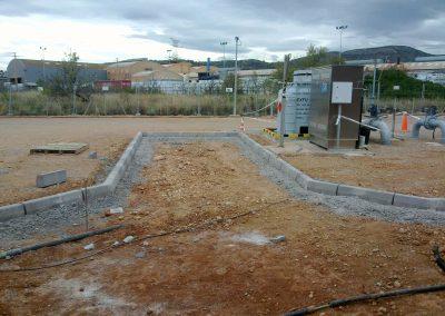 Construcción de viales y sustitución de cerramientos